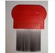 Lice Terminator Removes Dandruff Hair Comb Magic Suyod - RED
