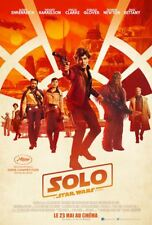 Affiche cinéma - Solo: A Star Wars Story - 40x60 CM environ neuve pliée
