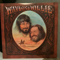 "WAYLON AND WILLIE (Nelson & Jennings)(AFL1-2686) - 12"" Vinyl Record LP - EX"