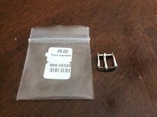 Rolex new Old Stock Vintage Tang Buckle 8mm Silver color Original Authentic