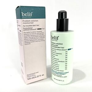 Belif Problem Solution Moisturizer 125ml for Acne/Blemishes /Oiliness /Redness