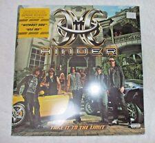 mint Hinder Take It To The Limit 2 LP Vinyl Mick Mars Motley Crue - Sealed