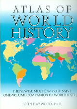 Atlas of World History by John Haywood (2000, Hardcover)