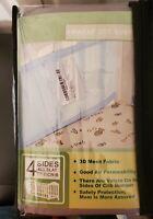 Air Wrap Breathable Air Mesh Crib Liner Wrap Nursery Cot Bed Bumper