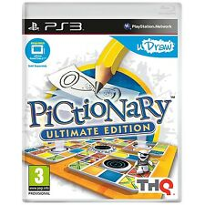 PICTIONARY ULTIMATE EDITION PS3 *NEW*