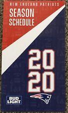 2020 New England Patriots Schedule � Very Cool Nfl Football Sked � Beer �