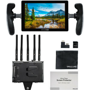 """New SmallHD 702 Touch 7"""" On-Camera Monitor with Bolt 4K Receiver (V-Mount)"""