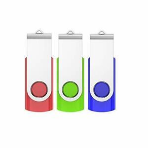 VIEKUU 4 GO Clé USB de 10 pièces Lot de 10 PCS Flash Disque pour PC,Télévision,