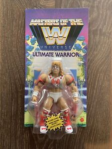🔥MASTERS OF THE WWE Universe   ULTIMATE WARRIOR Intact Punch Tab