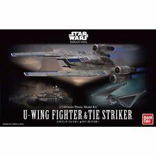 Bandai 1/144 Star Wars U-Wing Fighter & Tie Striker Model Kit New from Japan F/S