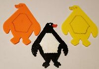 Large PENGUIN Pegboard for Hama/Perler Beads * Use With Fuse Beads * Set of 2