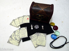 MINI ALTAR KIT pocket travel set wicca wiccan pagan athame chalice miniature BK