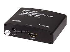 DVI & R/L Stereo Audio to HDMI® Converter