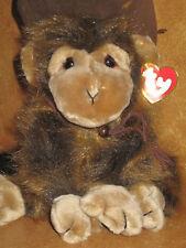 Ty Monkey Cha Cha 1998 Large Size Stuffed Plush NWT
