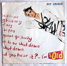 Single (s) - SOLD - Boy George