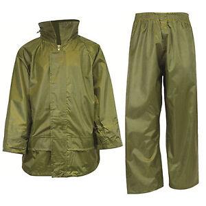 New Kids Stormguard Waterproof Trousers & Jacket Ideal for Outdoor Activities