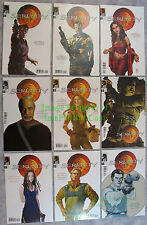 Serenity Those Left Behind Comics Complete 9 Cover Set FIREFLY +BIN BONUS