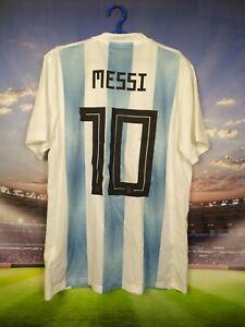 Messi Argentina Jersey 2018 2019 Home MEDIUM Shirt Adidas BQ9324