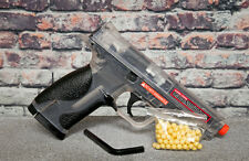 S&W M&P 40 CO2 Airsoft Pistol 388 FPS with .20g BBs Smoked CHEAP AIRSOFT GUNS
