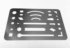 New Eraser Shield Stainless Steel Plate