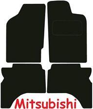 MITSUBISHI l200 DOPPIA CABINA SU MISURA tappetini AUTO ** Qualità Deluxe ** 2006 2005 2004