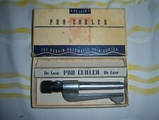 Pro-Curler DeLuxe The Bob Pin Automatic Hair Curler 1940's Vintage in Box