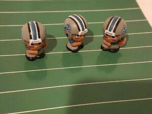 NFL FOOTBALL TEENYMATES DETROIT LIONS  TEAM FIGURE NEW LOT OF 3 RUNNING BACKS