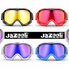 Ski Skiing Snow Snowboard Snowboarding Goggles with Vented Clear Mirror UV Lens