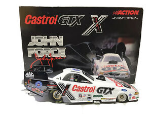 Action 2001 NHRA Castrol GTX John Force 10X Champion Ford Mustang