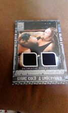 Fleer WWF WWE All Access Matchmakers Event Used Stone Cold & Undertaker Shirts