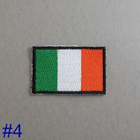 Ireland Flag Iron On / Sew On Cloth Patch Badge Irish Éire bratach na hÉireann