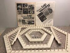Hexagon Loom Weaving Kit Vintage Crafts John Alan Love & Money Shuttle Patterns