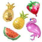 Flamingo/Pineapple Fruits Foil Balloon Baby Shower Summer Theme Party Supplies