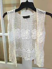 Aldo trevi Ivory Sweater In Size Medium