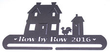 """Row by Row 2016 Hanger 9"""" Classic Motifs Craft Holder Rooster - Black M403.17"""