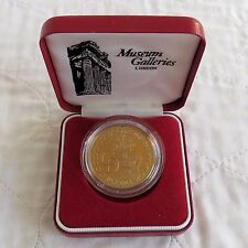 1981 ROYAL WEDDING OF CHARLES & DIANA 38mm PROOF MEDAL - boxed