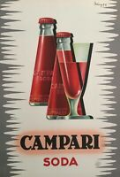 Vintage Advertising Campari Alcohol Poster 594mm x 841mm A1 Sku 92