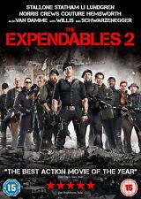 THE EXPENDABLES 2 DVD Sylvester Stallone Jason Statham Original UK Rele New R2