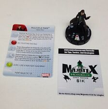 Heroclix Wolverine and the X-Men set Multiple Man #013 Common figure w/card!