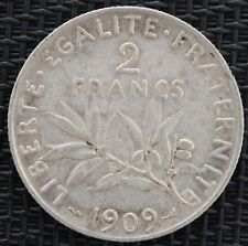 FRANCE 2 FRANCS SEMEUSE 1909