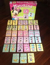 Disney MINNIE MOUSE Bow-tique Matching Game Wonder Forge 2012 Memory Card