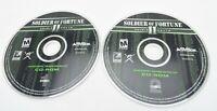 Soldier of Fortune II Double Helix PC 2 Discs w/ Key