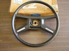 Nos 1983 1984 Ford Escort Steering Wheel Black Lynx Exp