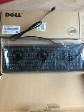 Dell Clavier Anglais USB 2.0 0dj491 Réglable en hauteur Noir Royaume-uni