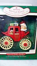 Hallmark Kringle Koach Collector's Series Iob Price Tab 10th In Series