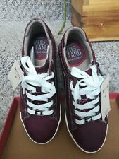 Shoes Mustang women Burgundy 39 g star raw UK6 sneakers clarks ecco trainers new