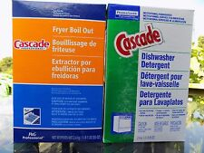 CASCADE DISHWASHER DETERGENT w/ PHOSPHATE 85 oz Old Formula New Box CLEAN DISHES