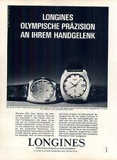 Longines Ultronic - - 1972-pubblicità con loghi pubblicità-genuineadvertising-NL-commercio di spedizione
