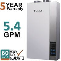 Refurbished Tankless Water Heater Propane Gas 5.4 GPM Direct Vent Marey 16ETL