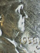 "1958-D FRANKLIN HALF DOLLAR  ""GOITER"" VARIETY RARE  ANACS MS-64  461"